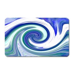 Abstract Waves Magnet (Rectangular)