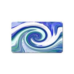 Abstract Waves Magnet (name Card)