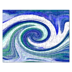 Abstract Waves Jigsaw Puzzle (Rectangle)