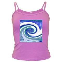 Abstract Waves Spaghetti Top (colored)