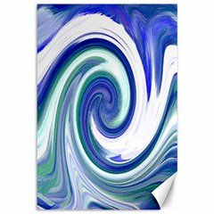 Abstract Waves Canvas 12  x 18  (Unframed)