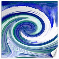 Abstract Waves Canvas 16  x 16  (Unframed)