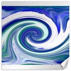 Abstract Waves Canvas 20  x 20  (Unframed)