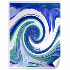 Abstract Waves Canvas 18  X 24  (unframed)