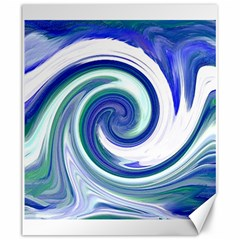 Abstract Waves Canvas 20  x 24  (Unframed)