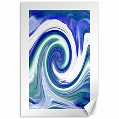 Abstract Waves Canvas 20  x 30  (Unframed)