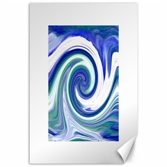 Abstract Waves Canvas 24  x 36  (Unframed)