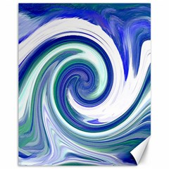Abstract Waves Canvas 11  x 14  (Unframed)