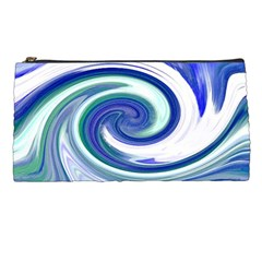 Abstract Waves Pencil Case