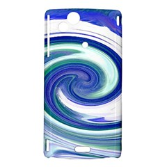 Abstract Waves Sony Xperia Arc Hardshell Case