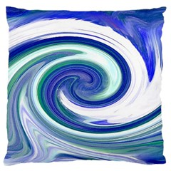 Abstract Waves Large Cushion Case (Two Sided)