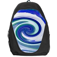 Abstract Waves Backpack Bag