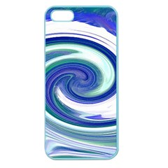 Abstract Waves Apple Seamless Iphone 5 Case (color)