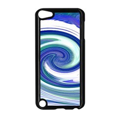 Abstract Waves Apple iPod Touch 5 Case (Black)