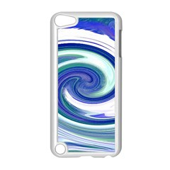 Abstract Waves Apple iPod Touch 5 Case (White)
