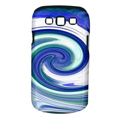 Abstract Waves Samsung Galaxy S III Classic Hardshell Case (PC+Silicone)