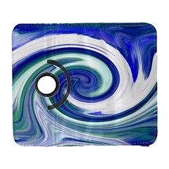 Abstract Waves Samsung Galaxy S  III Flip 360 Case