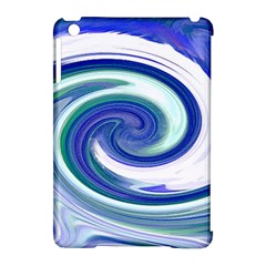 Abstract Waves Apple iPad Mini Hardshell Case (Compatible with Smart Cover)