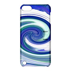 Abstract Waves Apple Ipod Touch 5 Hardshell Case With Stand