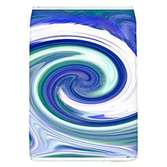 Abstract Waves Removable Flap Cover (large)