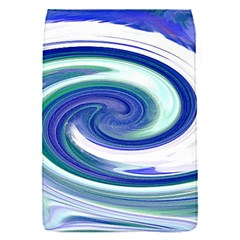 Abstract Waves Removable Flap Cover (Small)