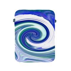 Abstract Waves Apple iPad Protective Sleeve
