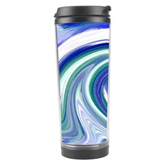 Abstract Waves Travel Tumbler