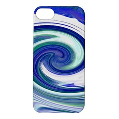 Abstract Waves Apple iPhone 5S Hardshell Case