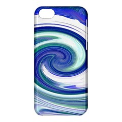 Abstract Waves Apple iPhone 5C Hardshell Case