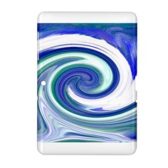 Abstract Waves Samsung Galaxy Tab 2 (10.1 ) P5100 Hardshell Case