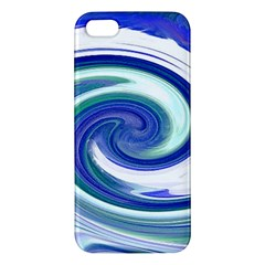 Abstract Waves iPhone 5S Premium Hardshell Case