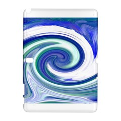 Abstract Waves Samsung Galaxy Note 10.1 (P600) Hardshell Case
