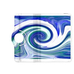 Abstract Waves Kindle Fire Hdx 8 9  Flip 360 Case
