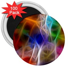 Fractal Fantasy 3  Button Magnet (100 pack)