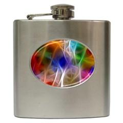 Fractal Fantasy Hip Flask