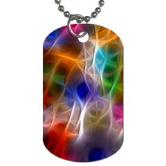 Fractal Fantasy Dog Tag (Two-sided)