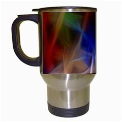 Fractal Fantasy Travel Mug (white)