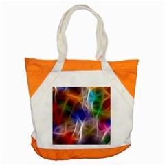 Fractal Fantasy Accent Tote Bag