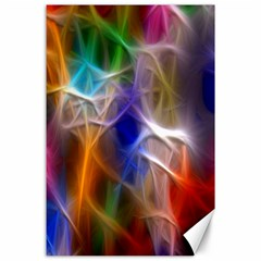 Fractal Fantasy Canvas 24  X 36  (unframed)