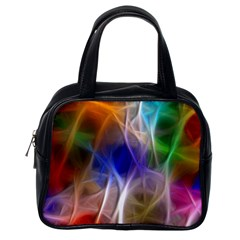 Fractal Fantasy Classic Handbag (one Side)