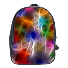 Fractal Fantasy School Bag (Large)