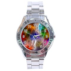 Fractal Fantasy Stainless Steel Watch