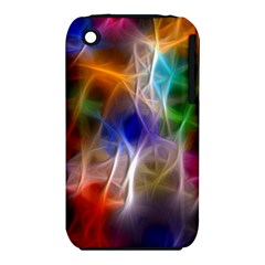 Fractal Fantasy Apple Iphone 3g/3gs Hardshell Case (pc+silicone)