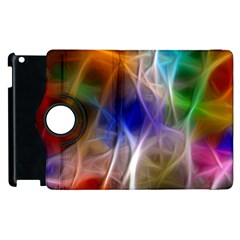 Fractal Fantasy Apple iPad 3/4 Flip 360 Case