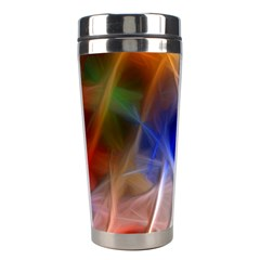 Fractal Fantasy Stainless Steel Travel Tumbler