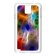 Fractal Fantasy Samsung Galaxy Note 3 N9005 Case (White)