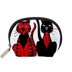 Cool Cats Mini Zipper Pouch