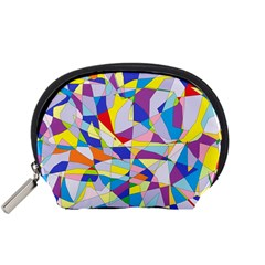 Fractured Facade Mini Zipper Pouch