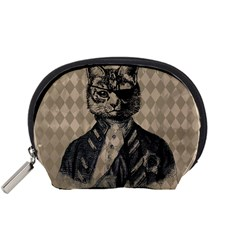Harlequin Cat Mini Zipper Pouch
