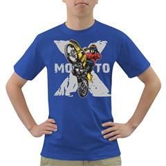 Moto X Wheelie Dark T Shirt